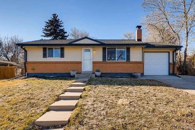 Arvada Single Family Home Under Contract: 7063 Marshall Street