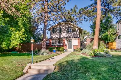 Denver Single Family Home Active: 2485 Wolff Street