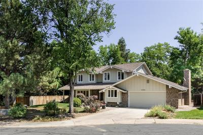Centennial Single Family Home Under Contract: 6480 South Heritage Place