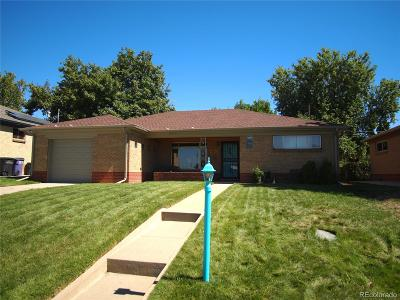 Denver Single Family Home Active: 4850 Golden Court
