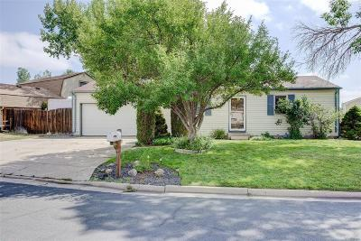 Westminster Single Family Home Under Contract: 9701 West 104th Drive