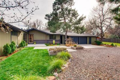 Longmont Single Family Home Under Contract: 8130 Captains Lane