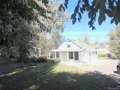 Denver Single Family Home Active: 2565 West Water Avenue