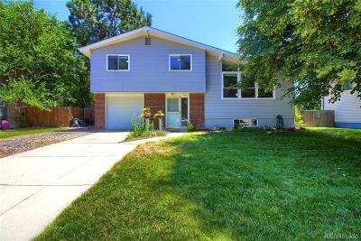 Arvada Single Family Home Active: 6260 Teller Street
