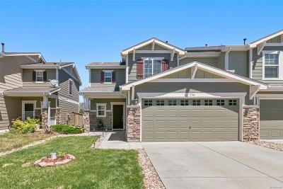 Castle Rock Condo/Townhouse Under Contract: 5744 Raleigh Circle