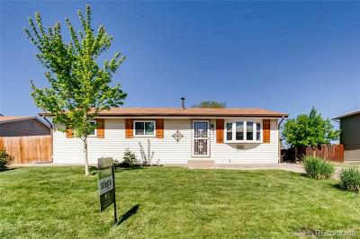 Denver Single Family Home Under Contract: 8343 Gaylord Street