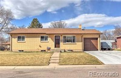 Arvada Single Family Home Under Contract: 6755 Kline Street