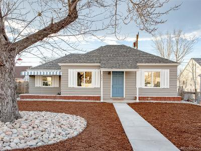 Denver Single Family Home Under Contract: 4341 Steele Street