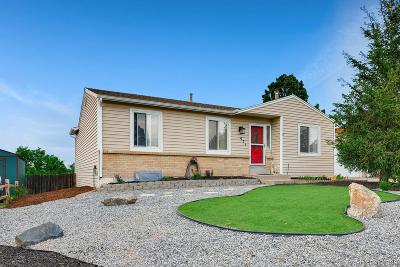 Castle Rock Single Family Home Under Contract: 971 Oakwood Drive