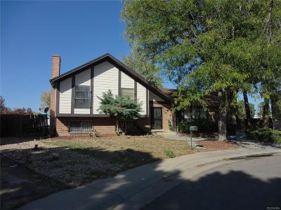 Denver Single Family Home Active: 12191 East Stoll Place