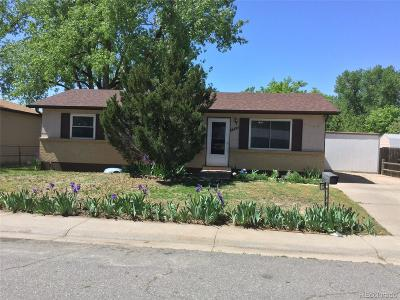 Denver Single Family Home Active: 5545 Carson Way
