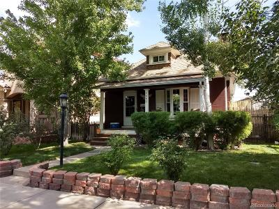 Denver Single Family Home Active: 1640 South Emerson Street