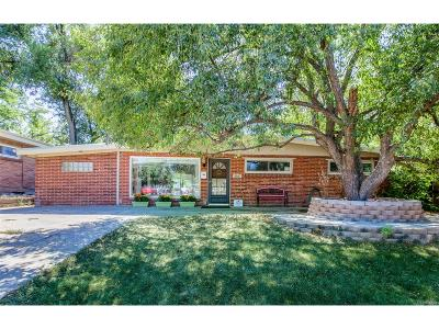 Westminster Single Family Home Under Contract: 3716 Shaw Boulevard