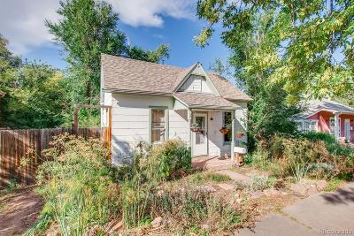 Boulder Single Family Home Active: 625 University Avenue