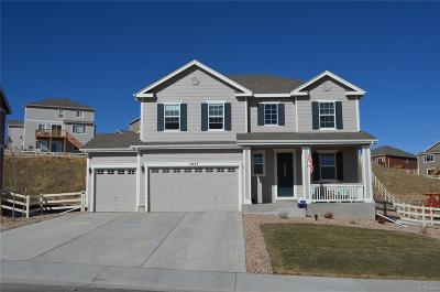 Crystal Valley Ranch Single Family Home Under Contract: 5437 Spring Ridge Trail