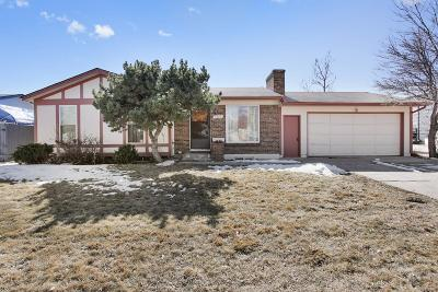 Thornton Single Family Home Under Contract: 2586 East 99th Avenue