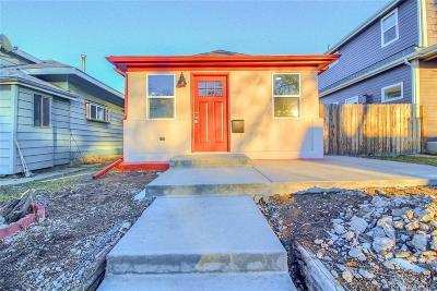 Denver Single Family Home Active: 4376 Yates Street