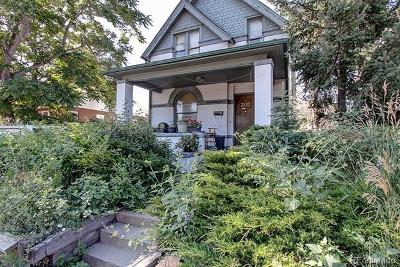 Denver Single Family Home Active: 2442 West 38th Avenue