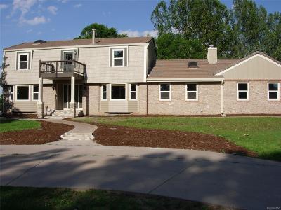 Centennial Single Family Home Active: 19955 East Peakview Court