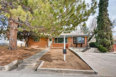 Westminster Single Family Home Under Contract: 8560 Circle Drive