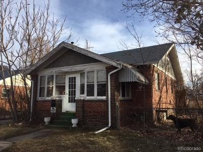 Denver Single Family Home Under Contract: 3428 West Clyde Place