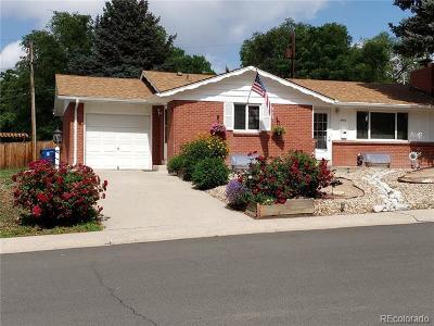 Wheat Ridge Single Family Home Active: 2915 Otis Court