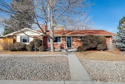 Arvada Single Family Home Under Contract: 9105 Brooks Drive
