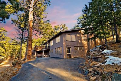 Golden Single Family Home Active: 552 Mt Evans Road