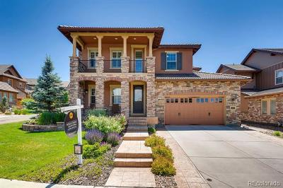 Highlands Ranch Single Family Home Active: 474 Pine Flower Court