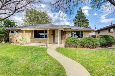 Denver Single Family Home Active: 2686 South Lowell Boulevard