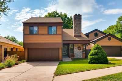 Littleton Single Family Home Active: 10170 West Alamo Place