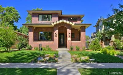 Denver Single Family Home Active: 2369 Glencoe Street