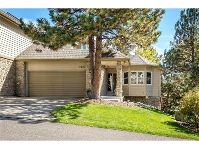 Castle Rock CO Condo/Townhouse Active: $549,000