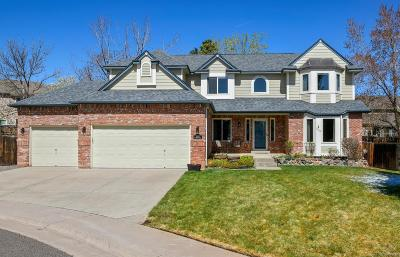 Littleton Single Family Home Active: 11115 West Rowland Avenue