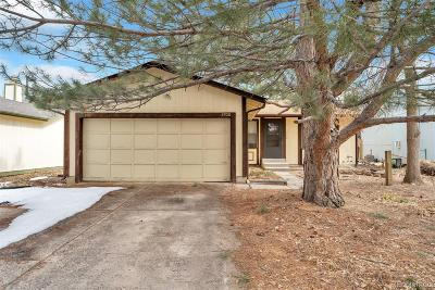 Aurora, Denver Single Family Home Under Contract: 3700 South Norfolk Way