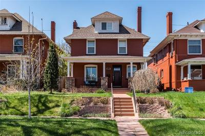 Denver Single Family Home Active: 2323 North Gaylord Street