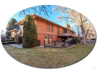 Arapahoe County Condo/Townhouse Under Contract: 3440 South Race Street