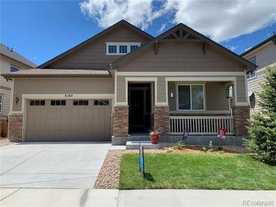Castle Rock Single Family Home Active: 3103 Riverwood Way