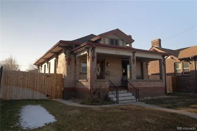 Denver Single Family Home Under Contract: 1425 King Street