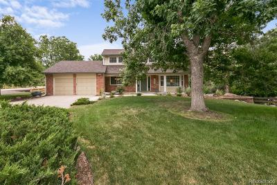 Littleton Single Family Home Under Contract: 7620 South Lost Ranger Peak
