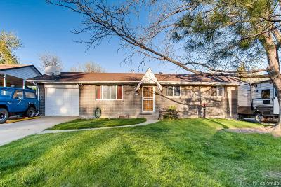 Westminster Single Family Home Under Contract: 8740 Oakwood Street