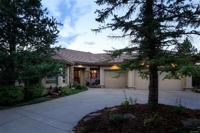 Castle Rock Single Family Home Active: 930 Utica Drive