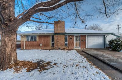 Denver Single Family Home Active: 2696 South Osceola Street