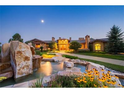 Castle Rock CO Single Family Home Active: $3,790,000