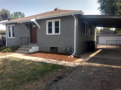Denver Single Family Home Active: 4712 West 11th Avenue