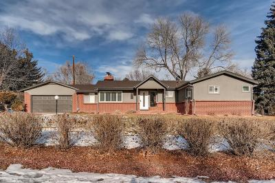 Lakewood CO Single Family Home Active: $585,000