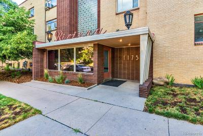 Denver Condo/Townhouse Active: 1175 North Emerson Street #205