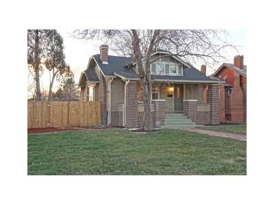 Denver Single Family Home Active: 3323 North Steele Street