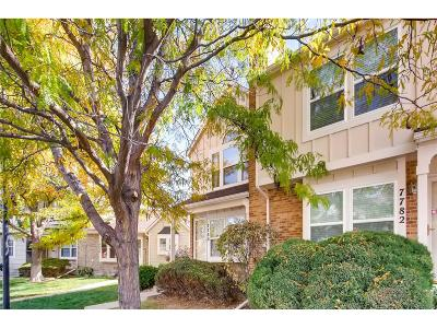Centennial Condo/Townhouse Under Contract: 7780 South Steele Street