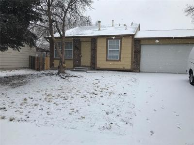 Denver Single Family Home Under Contract: 5154 Sable Street